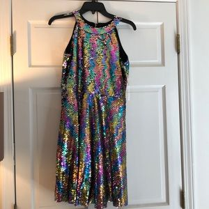 Rare Editions sequins party dress 14.5